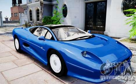 Jaguar XJ 220 для GTA 4 вид справа