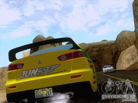 Downhill Drift для GTA San Andreas седьмой скриншот
