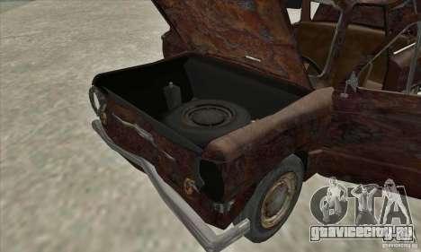 ЗАЗ 968 Заброшенный v.2 для GTA San Andreas вид сбоку