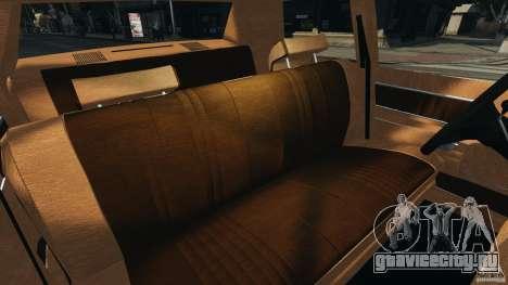 Dodge Monaco 1974 v1.0 для GTA 4 вид изнутри
