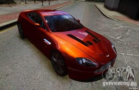 Aston Martin V12 Vantage 2010 для GTA 4 вид сзади слева