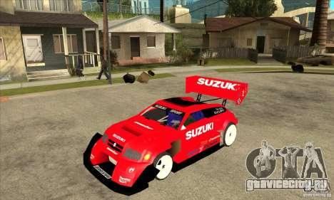 Suzuki Escudo Pikes Peak V2.0 для GTA San Andreas