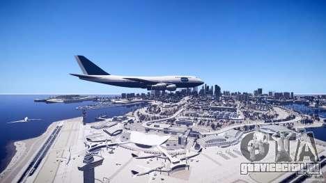 Pan Am Conversion для GTA 4 вид справа