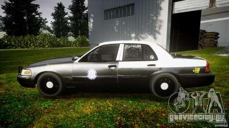 Ford Crown Victoria 2003 Florida CVPI [ELS] для GTA 4 вид слева