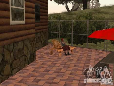 Новая Вилла для CJ для GTA San Andreas восьмой скриншот