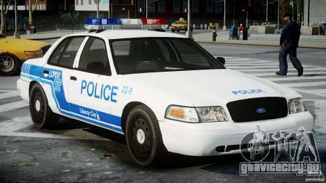 Ford Crown Victoria CVPI-V4.4M [ELS] для GTA 4 вид справа