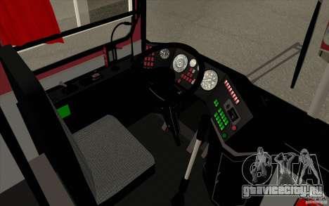Икарус 250 для GTA San Andreas вид сверху