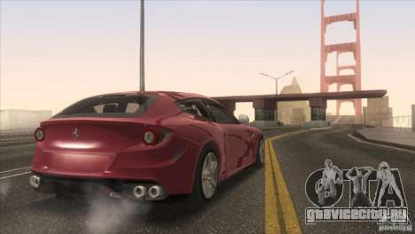 Ferrari FF 2011 V1.0 для GTA San Andreas двигатель