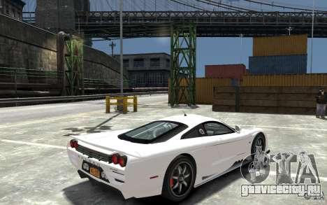 Saleen S7 для GTA 4 вид справа