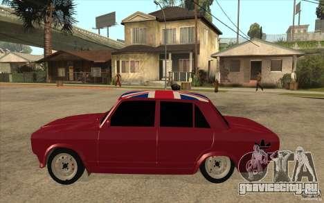 ВАЗ 2107 Бродяга v.2 для GTA San Andreas вид слева