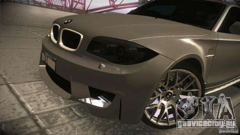 BMW 1M E82 Coupe 2011 V1.0 для GTA San Andreas вид сбоку