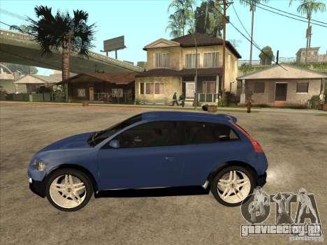 VOLVO C30 Sport 2009 для GTA San Andreas вид слева