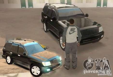 Toyota Land Cruiser 100vx v2.1 для GTA San Andreas