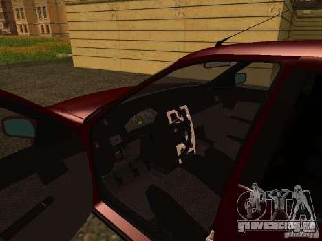 ВАЗ 2170 Премьер для GTA San Andreas вид сзади