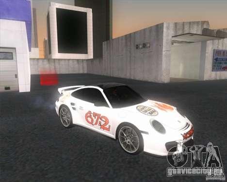Porsche 911 GT2 (997) для GTA San Andreas вид справа