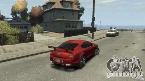 Bentley Continental SS для GTA 4 вид слева