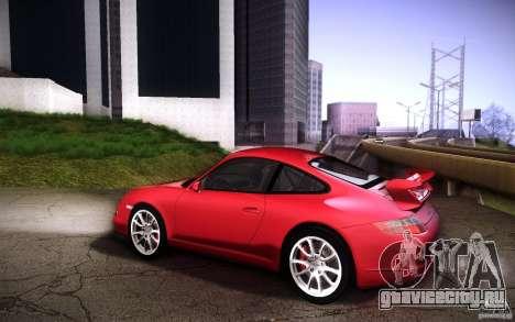 Porsche 911 GT3 (997) 2007 для GTA San Andreas вид сзади