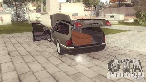 Mercedes-Benz E320 Funeral Hearse для GTA San Andreas вид слева