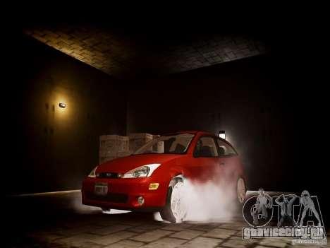Ford Focus SVT 2003 для GTA 4 вид сзади