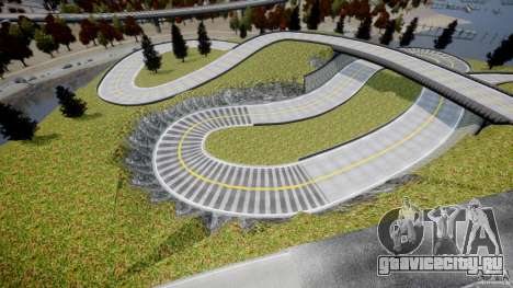 Edem Hill Drift Track для GTA 4 четвёртый скриншот