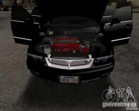 Mitsubishi Diamante для GTA San Andreas вид справа