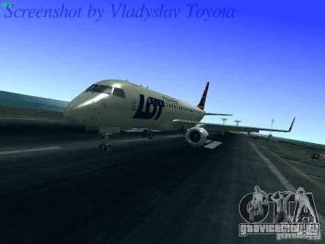 Embraer ERJ 190 LOT Polish Airlines для GTA San Andreas