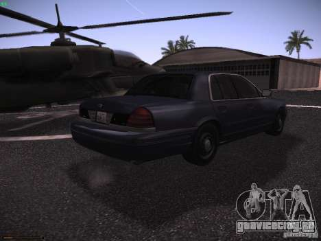 Ford Crown Victoria 2003 для GTA San Andreas вид справа