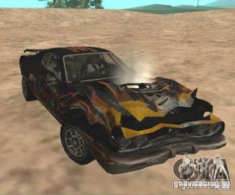Bullet from FlatOut 2 для GTA San Andreas вид сзади слева