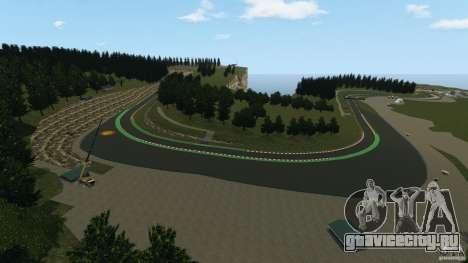 SPA Francorchamps [Beta] для GTA 4 пятый скриншот