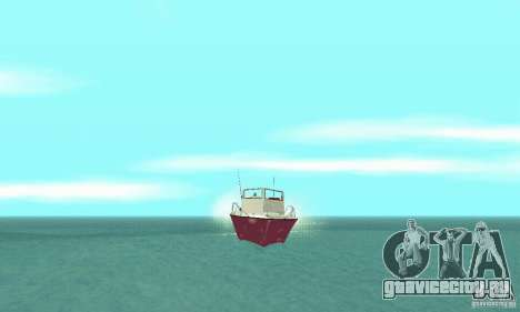 Sports Fishing Boat для GTA San Andreas вид справа