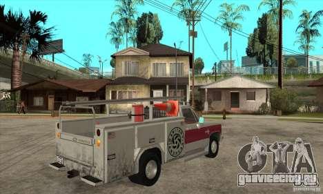 Chevrolet Silverado - utility для GTA San Andreas вид справа