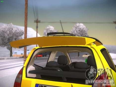 Citroen C2 для GTA San Andreas вид сбоку