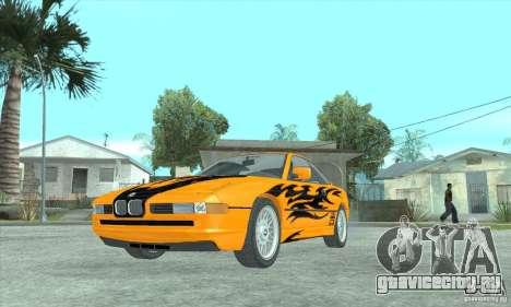 BMW 850i для GTA San Andreas вид справа