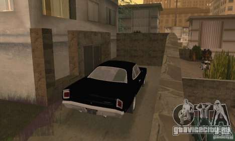 Plymouth Roadrunner 383 для GTA San Andreas вид слева