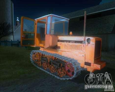 Трактор ДТ-75 Почтальон для GTA San Andreas вид слева