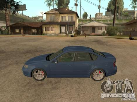 Subaru Legacy 3.0 R для GTA San Andreas вид слева