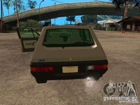 Fiat Ritmo для GTA San Andreas вид сзади