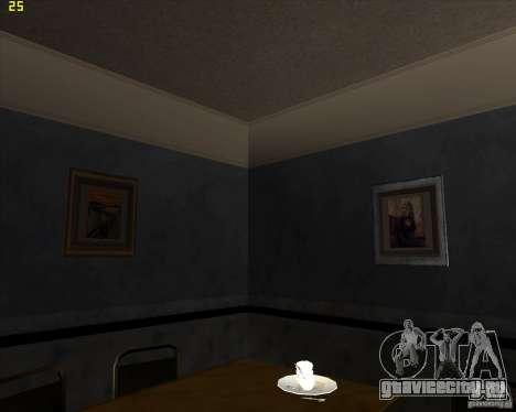 Картины в доме CJ для GTA San Andreas пятый скриншот