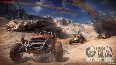 Меню и экраны загрузки RAGE для GTA San Andreas пятый скриншот