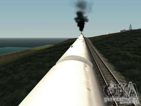 Рефрежираторный вагон Дессау №2 для GTA San Andreas вид сбоку