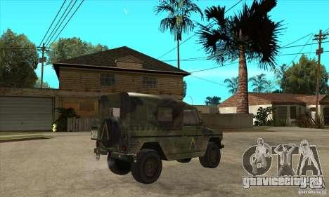 Mercedes Wolf для GTA San Andreas вид справа