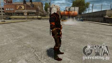 Геральт из Ривии v4 для GTA 4 второй скриншот