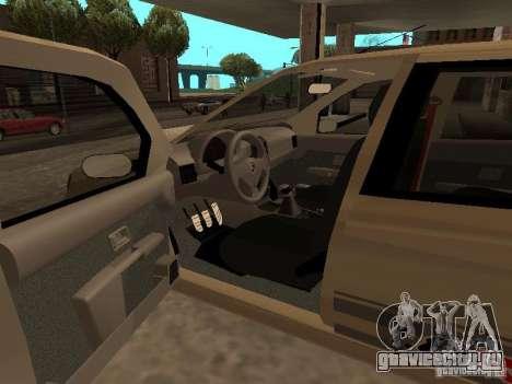 Fiat Palio 1.8R для GTA San Andreas вид сзади слева
