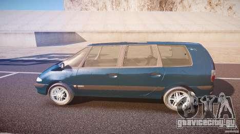 Renault Grand Espace III для GTA 4 вид слева