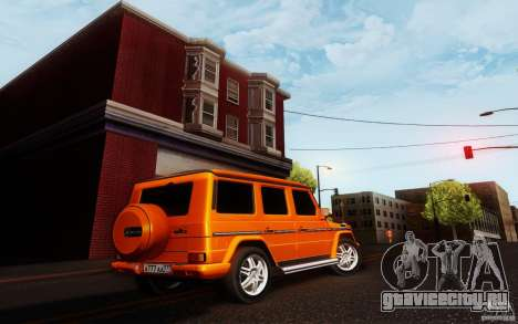New Graphic by musha v3.0 для GTA San Andreas третий скриншот