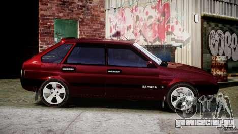 ВАЗ-2109 Samara 1999 для GTA 4 вид сбоку