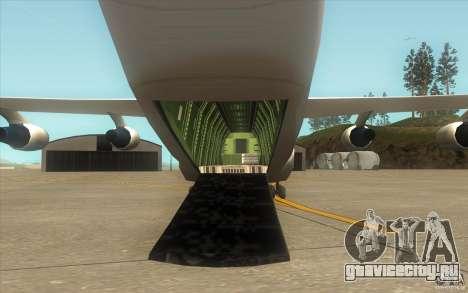 Улучшенная Андромеда для GTA San Andreas вид сверху