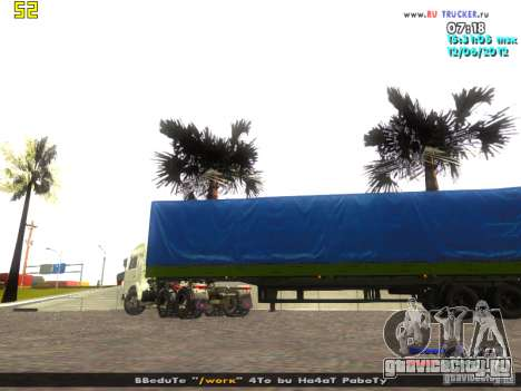 НефАЗ 93344 для GTA San Andreas вид слева