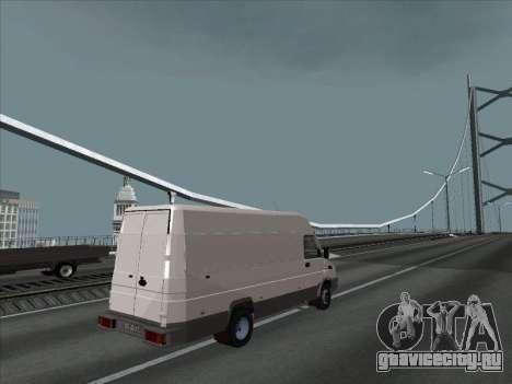 Iveco TurboDaily 35-10 для GTA San Andreas вид слева