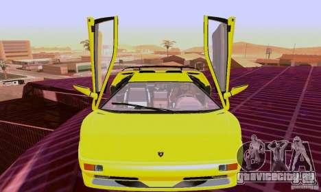 Lamborghini Diablo SV 1997 для GTA San Andreas вид слева